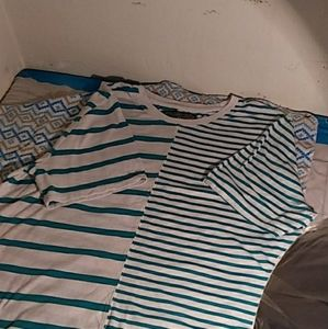 Brooklyn Cloth Stripe Tee Shirt
